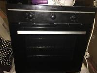 Indesit electric oven .