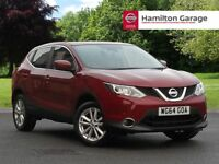 Nissan Qashqai 1.2 DiG-T Acenta [Smart Vision Pack] 5dr (magnetic red) 2014