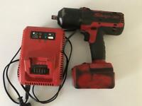Snap on impact gun