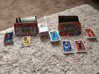 2x Match attax boxes + cards