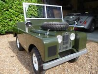 Toylander Series 1 Land Rover child's electric car.