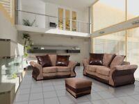 SALE PRICE SOFAS : CAMDEN SOFA RANGE: CORNER SOFA, 3+2 SETS, ARM CHAIRS, FOOT STOOLS