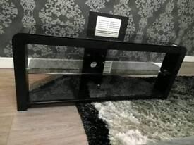 Universal black tv table