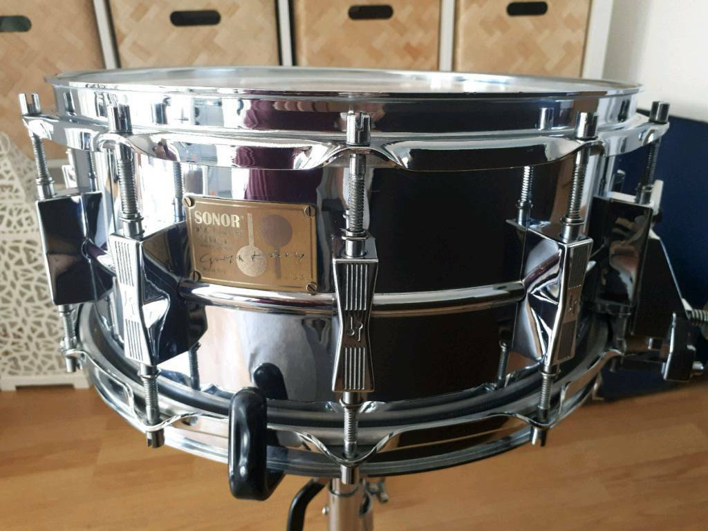 5e534b301a38 Sonor Signature series HLD-582 Rare 80 s snare drum
