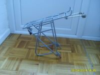 Bicycle Rack with Panniers