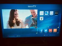 "ALMOST BRAND NEW* BUSH 32"" SMART LED TV FULL HD 1080P FREEVIEW INBUILT CHANNELS"