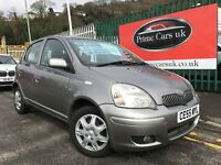 2005 (55 reg) Toyota Yaris 1.0 VVT-i Colour Collection 5dr 5 Speed Manual Petrol Low Miles 1 Owner