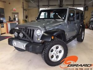 2013 Jeep WRANGLER UNLIMITED SAHARA UNLIMITED*CUIR*MANUELLE*UNIQ