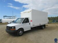 "2017 GMC Savana 3500 177"" WB 16' Cube Van DRW, UniCell Van Body Edmonton Edmonton Area Preview"