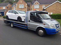 vehicle recovery ALL LONDON COVERED breakdown car transport auction collection free scrap collection