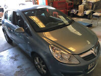 Vauxhall Corsa Diesel 1.3CDTi 2008 Design Half Leather, Sun Roof, 90K