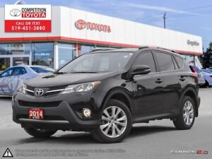 2014 Toyota RAV4 Limited Toyota Certified, One Owner, No Acci...