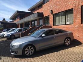 Audi A5 gun metal Grey