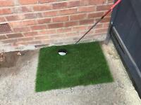 Golf practice swing mat Artificial Grass