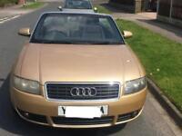 2004 04 Audi A4 1.8 Turbo Petrol Convertible