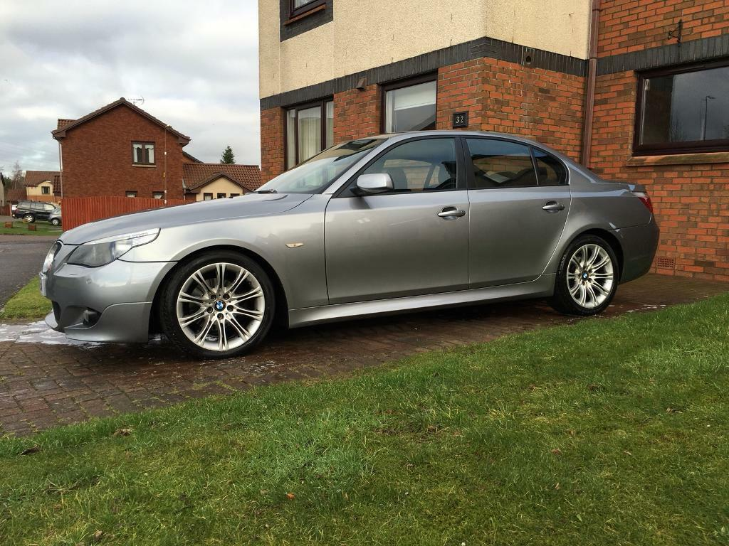 BMW 5 SERIES 525D M SPORT AUTO FSH RECENT MAJOR SERVICE 12 MONTHS MOT