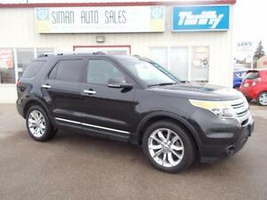 2013 Ford Explorer XLT XLT / 4x4 / Leather