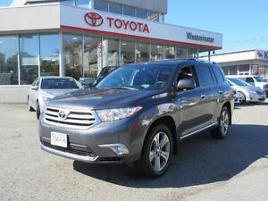 2013 Toyota Highlander Certified