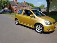 Toyota Yaris T-Sport 1.5 VVT-i *Japanese Hot Hatch in rare metallic Gold*
