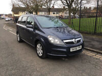 VAUXHALL ZAFIRA 1.9CDTI ACTIVE 6SPEED MANUAL 7 SEATER 120BHP