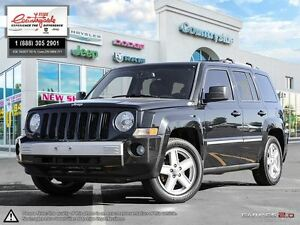 2010 Jeep Patriot Limited *4X4, SUNROOF & LEATHER*