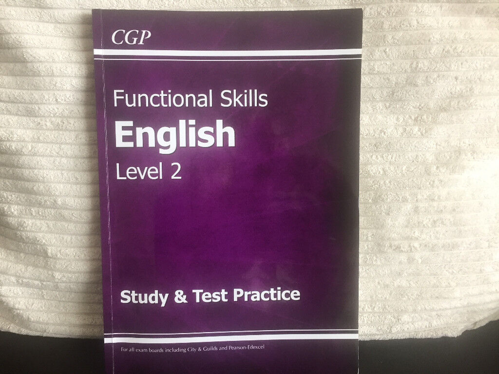 Functional Skills English Level 2 Study Book with Practice Tests ...