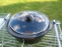 6.5L Morphy Richards crock pot and lid