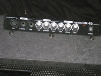 SubZero DR60 Drum Amplifier