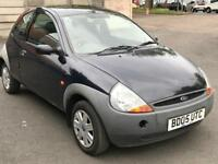 2005 FORD KA 1.3 * LOW MILES * PETROL * LONG MOT *IDEAL FIRST CAR * CHEAP INSURANCE * P/X * DELIVERY