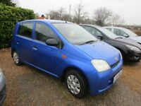 Daihatsu Charade £30 year rd tax 5door blue Mot Jan 2019