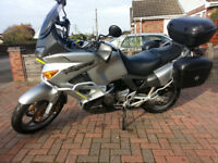 Honda Varadero XL1000V - Great all round touring adventure motorbike