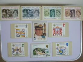 Post office Picture cards X 10 Postcards 1981-1987
