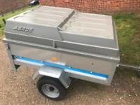 Larger maypole tipping trailer + Abs hardtop