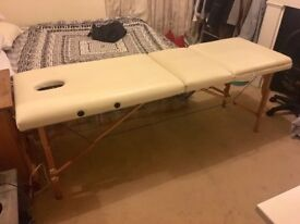 Massage/Eyelash extension table