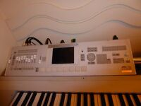 Korg M3 88 key workstation.