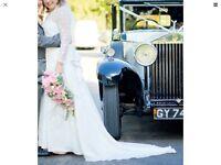 WEDDING DRESS, IVORY SIZE 14