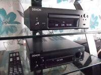 Denon D-F109DAB Micro System + Q Acoustics 2010i