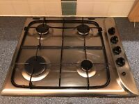 Indesit Gas Hob and Fan Assisted Electric Oven