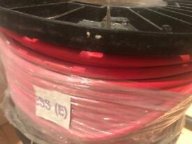 4-Core 1.5mm² Enhanced Fire Performance Cable Red Brand New