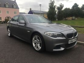 2012 BMW 520d M SPORT. ABSOLUTELY HUGE SPEC! FULL BMW SERVICE HISTORY! STUNNING CONDITION!