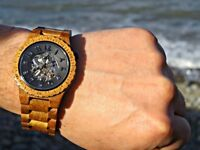 Jord Wooden Watch (Mens) still with box