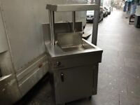CATERING COMMERCIAL USED CHIP DUMP SCUTTLE CAFE SHOP TAKE AWAY RESTAURANT CAFE SHOP COMMERCIAL KEBAB