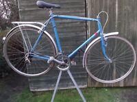 Vintage Tour De France Racing Bike For Restoration Classic Retro Race Cycle