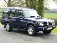 2003 LAND ROVER DISCOVERY 2 TD5 GS 7 SEAT 4X4