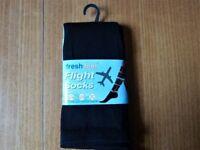 TRAVEL SOCKS for Plane,Train or Car. DVT UNISEX SIZE 4-7 BRAND NEW.