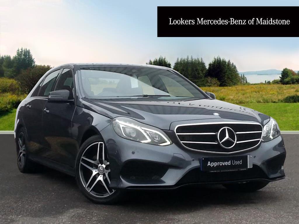 Mercedes-Benz E Class E220 BLUETEC AMG NIGHT EDITION (grey) 2015-09-30
