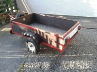 Car trailer 5x3 £ 200