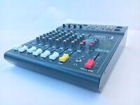 Studiomaster Club XS 8 - Built in Effects and SD MP3 card player