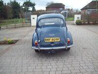 1967 morris minor 4 door saloon Trafalgar Blue,Mot till January 2019 Historic vehicle tax free.