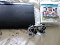 Ps3 console. Light up control and 5 games